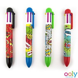 Ooly Ooly - Comic Attack 6 click pens