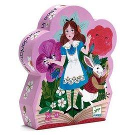 Djeco Djeco 7260 puzzel Alice in wonderland 50 stukjes