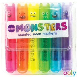 Ooly Ooly mini monsters markeerders