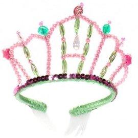 Tiara Zeemeermin groen/roze