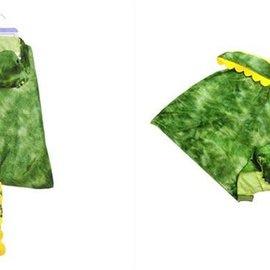 Great Pretenders T Rex capuchon cape groen