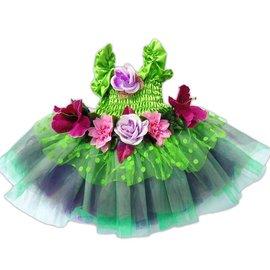 Great Pretenders Feeën jurk groen maat M