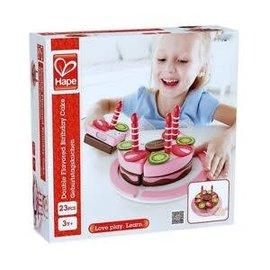 Hape Hape Verjaardagstaart,  twee smaken