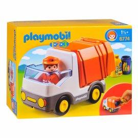 Playmobil Playmobil - 123 Vuilniswagen (6774)