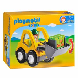 Playmobil Playmobil - 123 Graafmachine met werkman (6775)