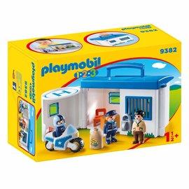 Playmobil Playmobil - 123 Meeneempolitiestation (9382)