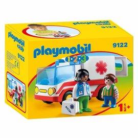Playmobil Playmobil - 123 Ziekenwagen (9122)