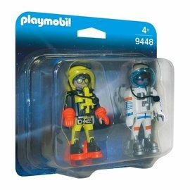 Playmobil Playmobil - Duopack Ruimtereizigers (9448)