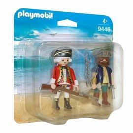 Playmobil Playmobil - Duopack Piraat en soldaat (9446)