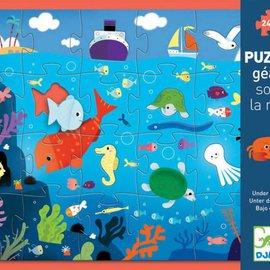 Djeco Djeco 7116 puzzel Giant zeeleven 24 stukjes
