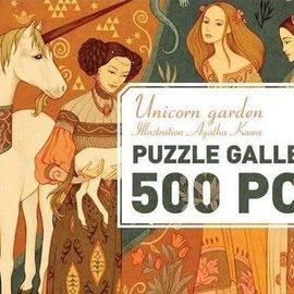Djeco Djeco 7624 Gallerij puzzel - Eenhoorn tuin (500 stukjes)