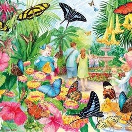 Gibsons Gibsons Butterfly House (1000 stukjes)