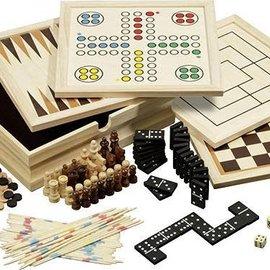 Philos Philos houten spellen verzameling 10 medium