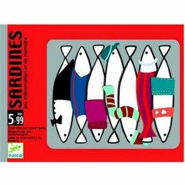 Djeco Djeco 5161 Kaarstpel - Sardines