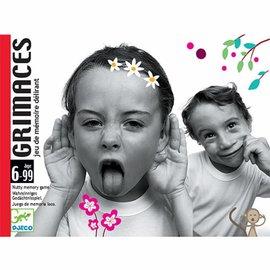 Djeco Djeco 5169 Kaartspel - Grimaces