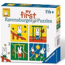 Ravensburger Ravensburger Mijn eerste puzzel Nijntje (2, 3, 4 en 5 stukjes)