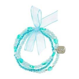 Phanine Armband Lies hart, lichtblauw