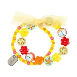 Souza Armband Isla Beach, geel-oranje-rood