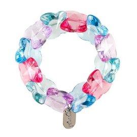 Souza Armband Jony, hartjes roze-blauw
