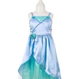 Phanine Flore jurk, groen-blauw, 3-4 jaar/98-104 cm