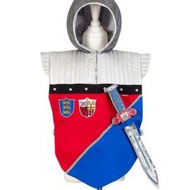 Phanine Frederik ridder tuniek, met zwaard! (5-7 jaar), lengte 53 cm