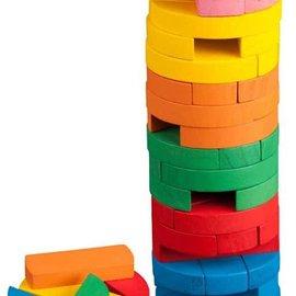 Philos Vallende toren (jenga) kleur
