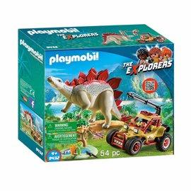 Playmobil Playmobil - Explorersbuggy met Stegosaurus (9432)