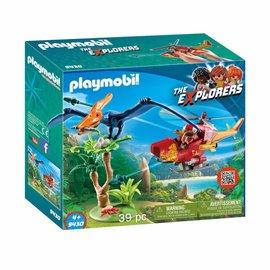 Playmobil Playmobil - Helikopter met Pteranodon (9430)