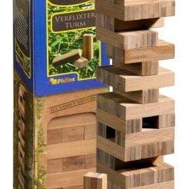 Philos Vallende toren (jenga) bamboe