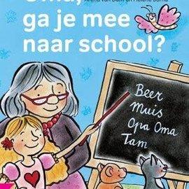 AVI-E3:  Oma, ga je mee naar school
