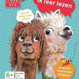 Boek Maan Roos Vis, Ik leer lezen. 5+