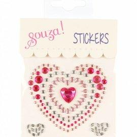 Phanine Fun stickers hart