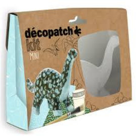 Mandarine Mandarine Decopatch kit mini dino