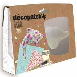 Mandarine Mandarine Decopatch kit mini dolfijn