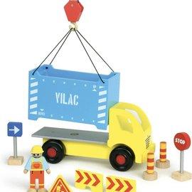 vilac Vilac - Containervrachtwagen met onderdelen.