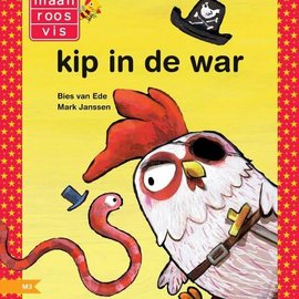 Boek AVI-M4: Kip in de war