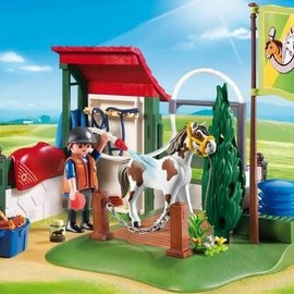 Playmobil Playmobil paardenwasplaats (country)