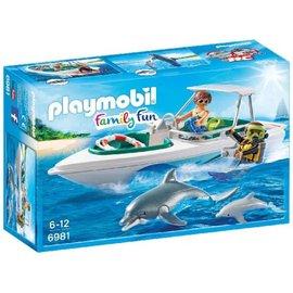 Playmobil Playmobil - Duiktrip met plezierboot (6981)