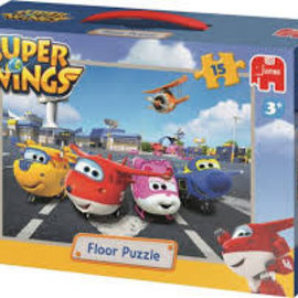 Jumbo Jumbo puzzel Floor  Super Wings