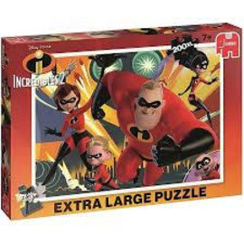 Jumbo Jumbo puzzel XL The Incredibles 2