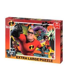 Jumbo Jumbo puzzel XL 100 The Incredibles 2