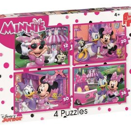 Jumbo Jumbo puzzel 4in1 Disney Minnie HH