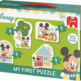 Jumbo Jumbo puzzel My first puzzel Disney Mickey