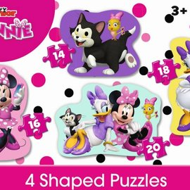 Jumbo Jumbo Disney 4 in 1 shaped puzzle Mini