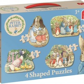 Jumbo Jumbo - Peter Rabbit 4 shaped puzzel