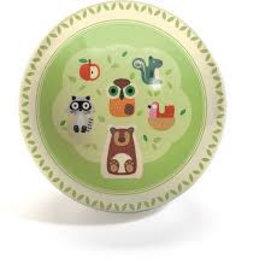 Djeco Djeco 0140 Bal - Savanne dieren en appel (15 cm)