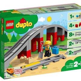 Lego Lego Duplo 10872 Treinbrug- en rails