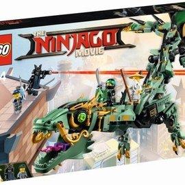 Lego Lego 70612 Groene ninja mecha draak