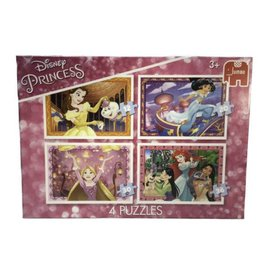 Jumbo Jumbo puzzel 4in1 Disney Princess