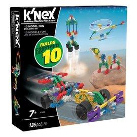 Knex K'Nex bouwset 10 modellen (126 delig)